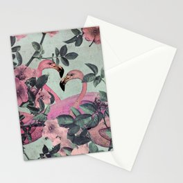 Flamingo Gardens Stationery Cards