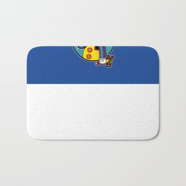 Krustywise the Clown Bath Mat
