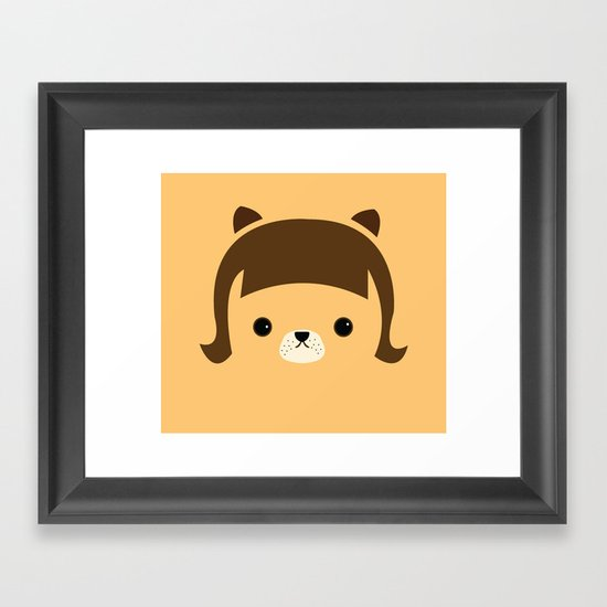 Hello my name is CHAO  Framed Art Print