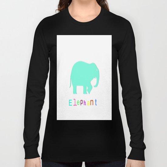 Elephant- Long Sleeve T-shirt