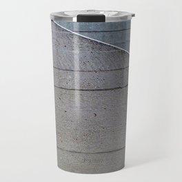 beton brutalist - angled abstract Travel Mug