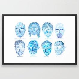 Crystallized Morality Framed Art Print