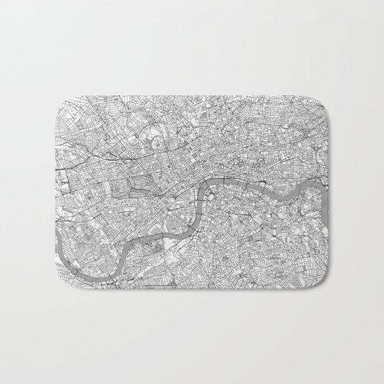 London Map Line Bath Mat