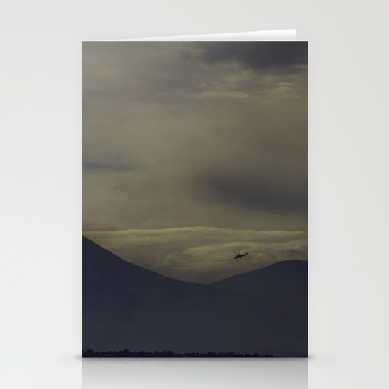 Helicopter Stationery Cards