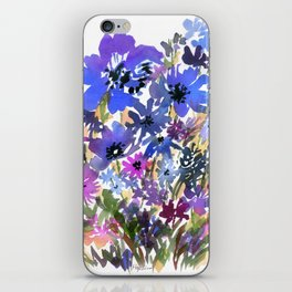 Heavenly Blues and Purples iPhone Skin