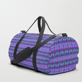 Moroccan Purple Duffle Bag