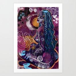 Tahiya Art Print