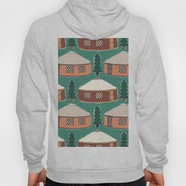Cozy Yurts -n- Pines Hoody