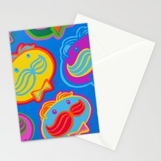pringles man Stationery Cards
