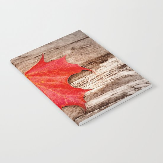 LEAF ME ALONE Notebook