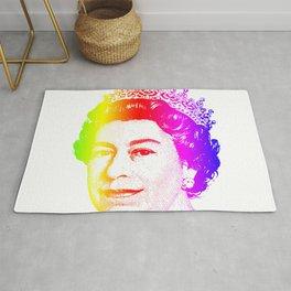 Queen Elizabeth Rainbow Rug