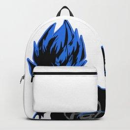 Goku Saiyan God Blue Backpack