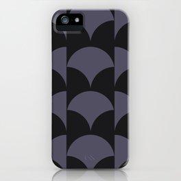 Cleo Pattern - Midnight iPhone Case