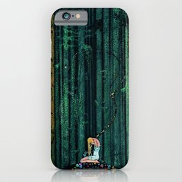 In the Midst of the Gloom of the Enchanted Woods by Kay Nielsen iPhone Case
