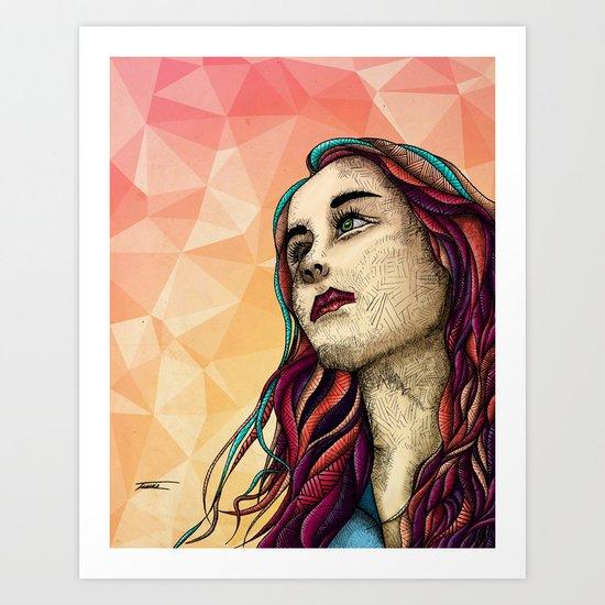 Faint Futures Art Print