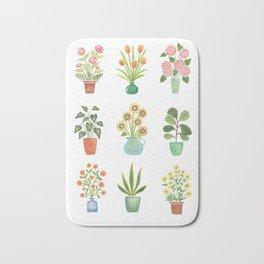 Mini Flower Garden Bath Mat