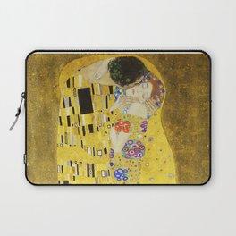 The Kiss - Gustav Klimt, 1907 Laptop Sleeve