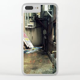 Harrisburg Alley Clear iPhone Case