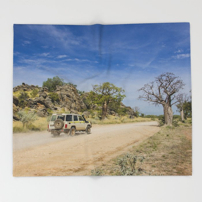 Leopold Downs Road Throw Blanket