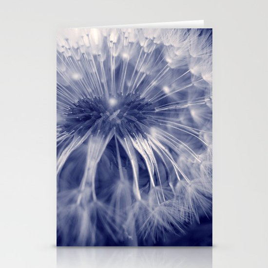 blue dandelion I Stationery Cards