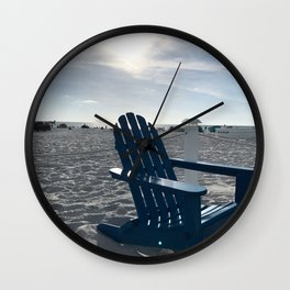 Adirondack Beach Wall Clock
