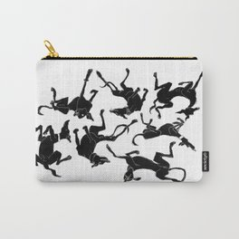 greyhound yoga Carry-All Pouch