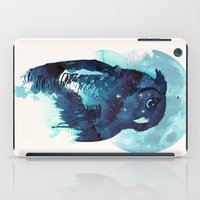 belle iPad Cases featuring Midnight Owl by Robert Farkas
