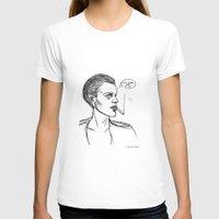 brad pitt T-shirts featuring MICHAEL PITT. by DoeFeet