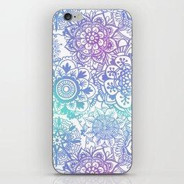 Pastel Mandala Pattern iPhone Skin