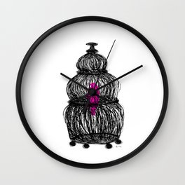 Brooke Figer - Caged Wall Clock