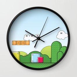World of Mario Wall Clock