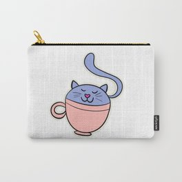 Teacup Cat Carry-All Pouch