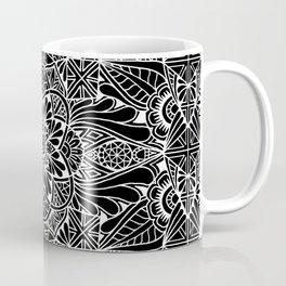Inverted Pastel Mandala Coffee Mug