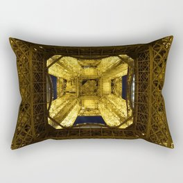 Under the Eiffel Tower Rectangular Pillow