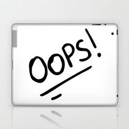 OOPS! (OOPS HI COMBO) Laptop & iPad Skin