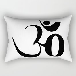OM or Aum symbol Rectangular Pillow