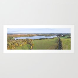 Swithland reservoir Art Print
