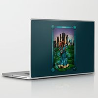 merida Laptop & iPad Skins featuring Silhouette Merida  by Katie Simpson a.k.a. Redhead-K