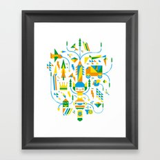 Shape-A-Licious Framed Art Print