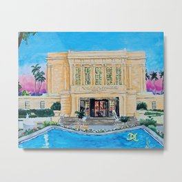Mesa Arizona LDS Temple Metal Print