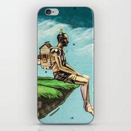 Man on the rock 5 iPhone Skin