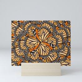 Monarch Kaleidoscope Mini Art Print