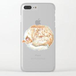 Sundance the Cat Clear iPhone Case