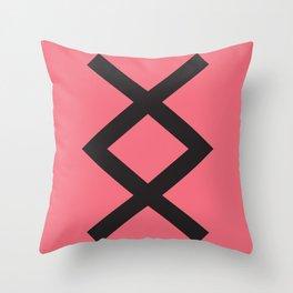 Showtasting - Rune 11 Throw Pillow