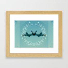 Can't Fly Framed Art Print