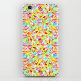 Neon Circus iPhone Skin
