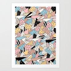 PIZZA !! Art Print