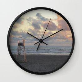Pastel Evening II Wall Clock