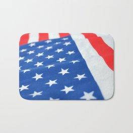 American Flag 2 Bath Mat