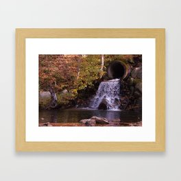 Irwin Run Spillway Framed Art Print